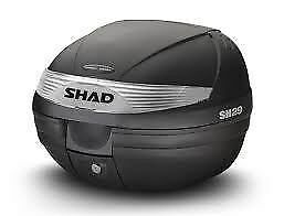 SHAD SH 29 TOP BOX  compact size ideal for scooters / sports bikes AUSSIE SELLER