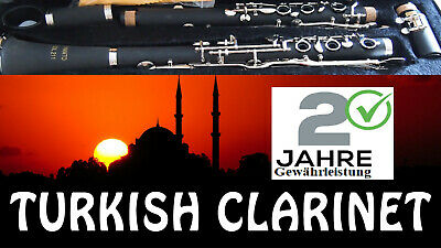 G CLARINET/KLARNET // TURKISH GERMAN SYSTEM / Direct from Germany