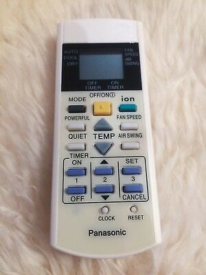 Replacement Air Conditioner Remote Control for Panasonic Model A75C3299 A75C2600