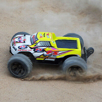 1/10 electric REMOTE CONTROLLED RC MONSTER TRUCK 4WD OFFROAD 2.4GHZ RTR