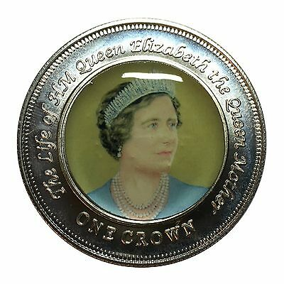 2005 Nightingale Island One Crown - The Life of The Queen Mother v3