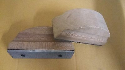 Hoof rasp new wooden 2 pieces riders rasp file buy one get one free