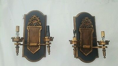 Two Antique Wall Sconces