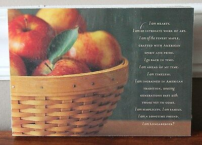 Longaberger Postcards Pack of 50 Home Show CONSULTANT Supplies *NEW Rare