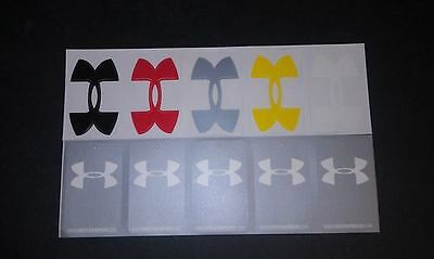 "10 New Under Armour 2"" X 3"" Vinyl Decal Stickers"