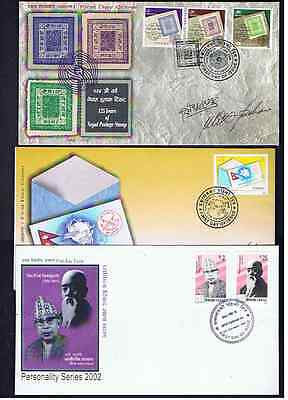 Nepal First Day Covers 2002-06