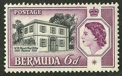 Bermuda  1959  Scott #168  Mint Very Lightly Hinged