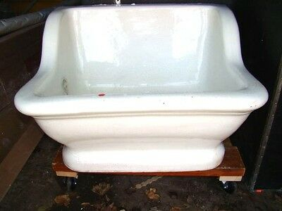circa 1927 SITZ tub from OakWood, Oh mansion / Vintage, as found