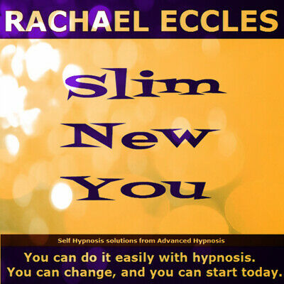 Self Hypnosis: Slim New You Weight Loss Program, set of 3 CD's, Rachael Eccles
