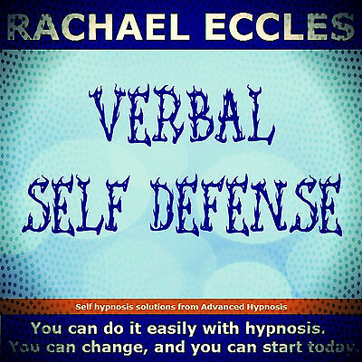Verbal Self Defense, Assertiveness Self Hypnosis Hypnotherapy CD, Rachael Eccles