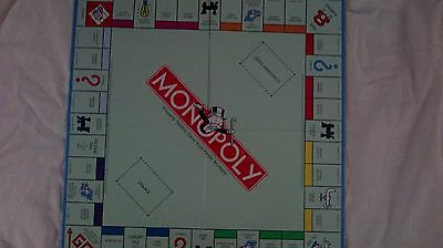 Monopoly Game Pieces - Standard board only - lot of 14 - quad fold - blue back