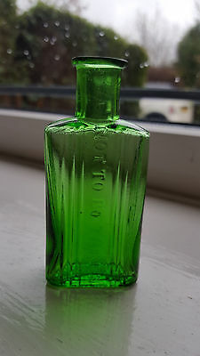 Green Gilbertson Poison Bottle