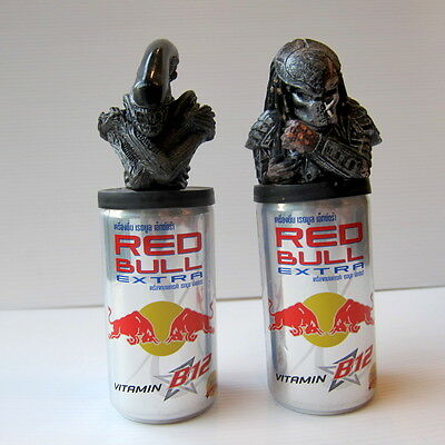 Alien VS. Predator AVP -Official Red Bull EXTRA Promo Can Topper BY NARIN GIGER