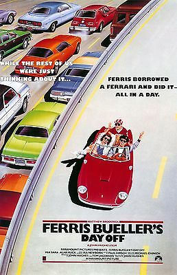 FERRIS BUELLERS DAY OFF 11x17 mini movie poster collectible