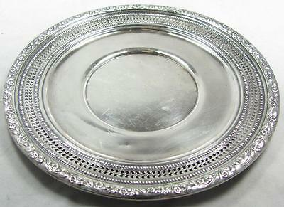 Vintage Frank M Whiting Sterling Silver Platter Charger Plate 701-666