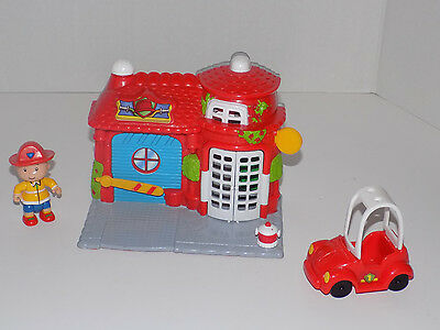 Cailou Firehouse Playset