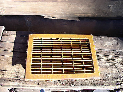 Antique Craftsman Style Floor Vent / Grate - Circa 1900 Architectural Salvage
