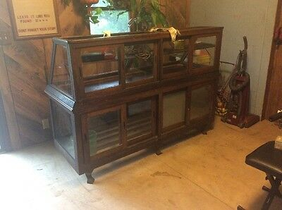 Antique Country Store Display Case.....
