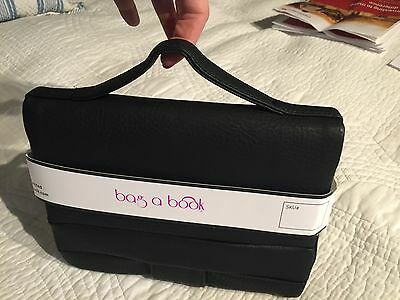 Bag-A Book Leather Book Case & Carrier, Excellent Present For a Book Lover, new