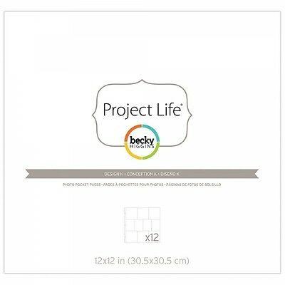 """Becky Higgins - Project Life - 12x12"""" Page Protectors"""