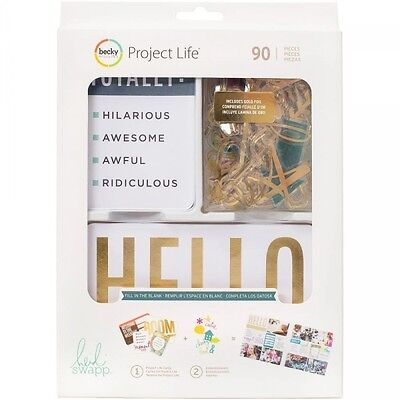 Becky Higgins Project Life Value Kit Fill in the Blank (90 Teile)