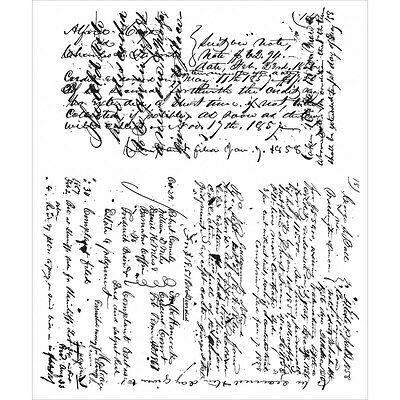 Tim Holtz - Stampers Anonymous - Ledger Script