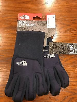 The North Face Mens Denali Etip Glove Cosmic Blue NWT