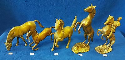Antique Brass Horse Figure Statue - Choose any 1