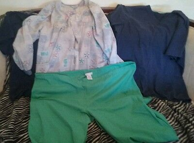 Lot Of 5 Scrubs ~ Size 2XL XXL ~ Free Priority Shipping!