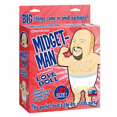 Midget Man Inflatable Blow Up Doll Fun Novelty Hen Stag Party New