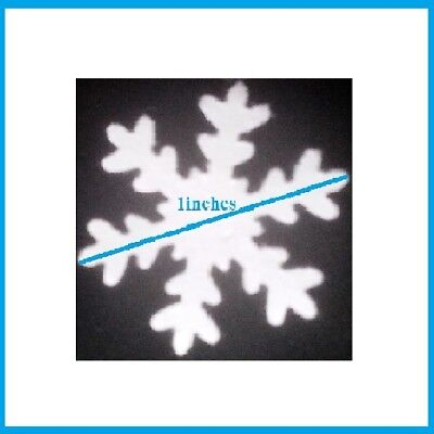 100 x SNOW FLAKES FOR CAKES,CUPCAKES DECORATIONS