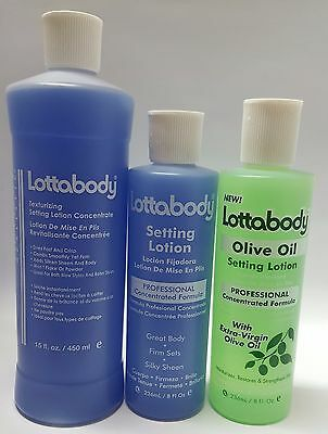 Lottabody Setting Lotion Concentrated Formula FULL RANGE