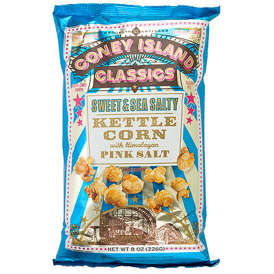 NEW Coney Island Classics Sweet & Sea Salty Kettle Corn 226g