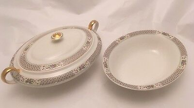 KT&K Knowles Taylor Knowles Covered Serving Dish & Bowl