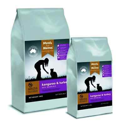 MEALS FOR MEOWS KANGAROO AND TURKEY (CAT) 2.5KG- Dry Food