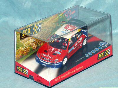Boxed Scx Citroen Xsara Wrc 1:32 Slot Car Brand New Unrun