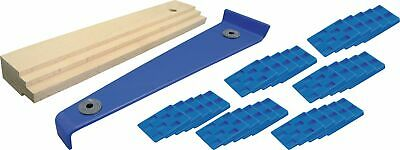 Laminate Floor laying kit Crowbar Impact wood and 30x Wedge for Parquet etc