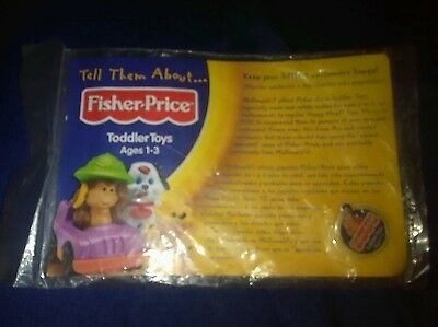 Mcdonalds Fisher Price Toddler Toys Pin With Card Sealed