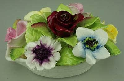 Coalport Fine China Flower Posy with Rose Buds & Flowers Made in England DH65