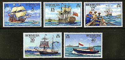 Bermuda  1977  Scott #355-359  Mint Lightly Hinged Set