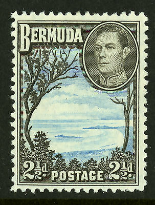 Bermuda  1938-51  Scott #120  Mint Very Lightly Hinged