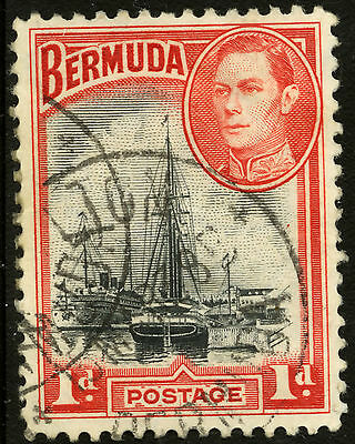 Bermuda  1938-51  Scott #118a  USED
