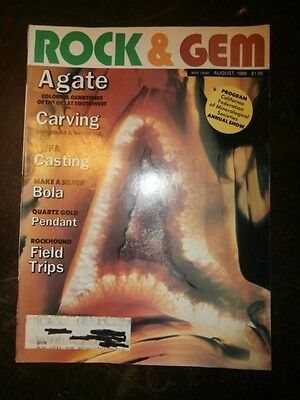 ROCK & GEM Magazine August 1988
