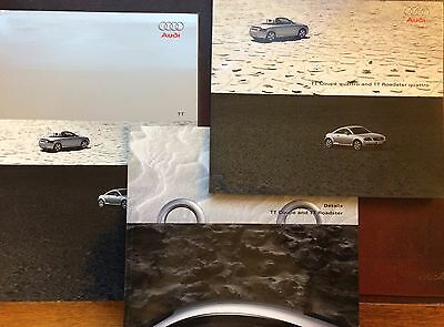 Audi TT Coupe & Roadster Quattro Mk1 Brochure Pack 2002 UK Market - 110 PAGES!!!