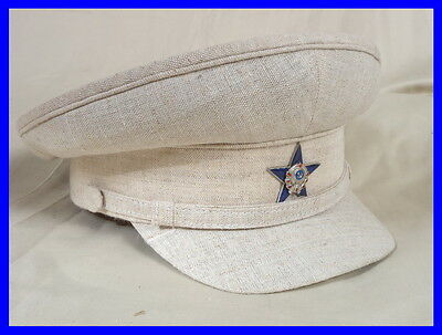 Rare Cap for hot areas Early Soviet Police Militia or NKVD 1930-1938 GULAG GUARD