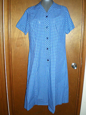 BNWOT FCW Fashion size 20 summer school uniform blue check in EC