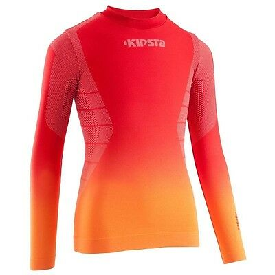 KIPSTA BREATHABLE THERMAL SWEATER KEEPDRY CHILD For temperatures Between 5 °/15º