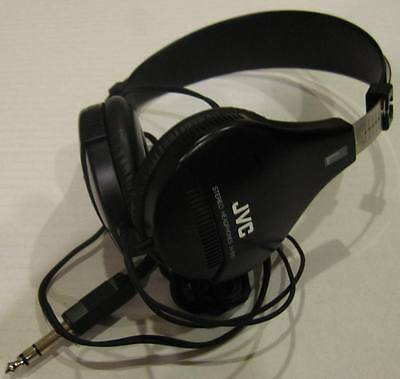 JVC -H-510 Vintage Stereo Headphones - RARE 1984  Tested and workng great!