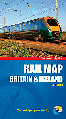 Rail Map of Britain and Ireland by Thomas Cook Publishing (Sheet map, folded,...