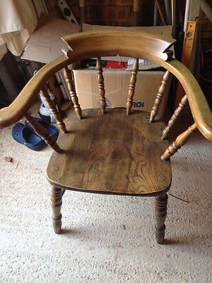 Smokers Chair Bow Chair Captains Chair